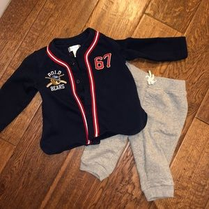 Baby outfit with sweatpants